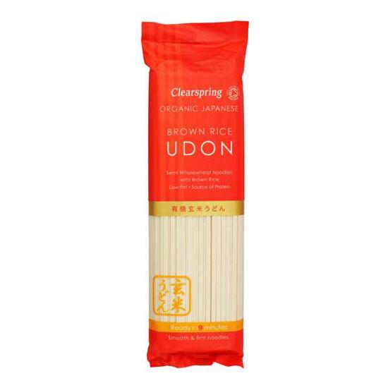 Getrocknete Udon aus Weizen und braunem Reis