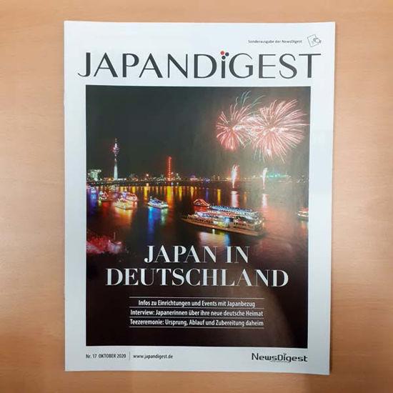JapanDigest Nr. 17, Japan in Deutschland