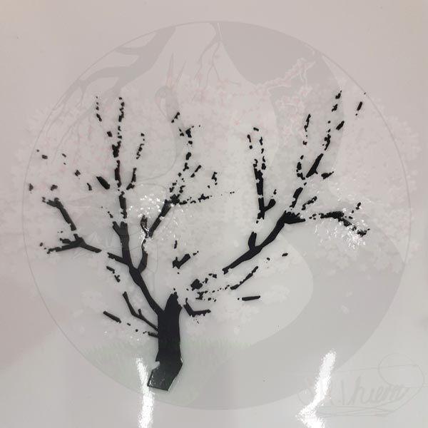 Sakeschalen Sakura, Warm 2