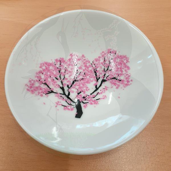 Sakeschalen Sakura, Kalt 1