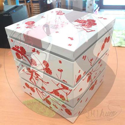 Bentobox Pflaumenblüte, Gesamt