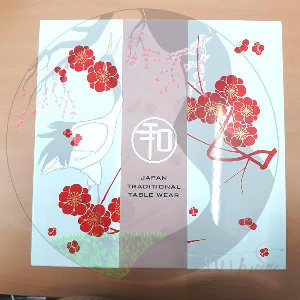 Bentobox Pflaumenblüte, Deckel