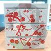 Bentobox Pflaumenblüte, Seitenansicht 1