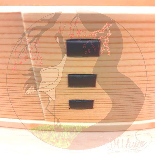 Magewappa Bentobox Original, Verzahnung Außen