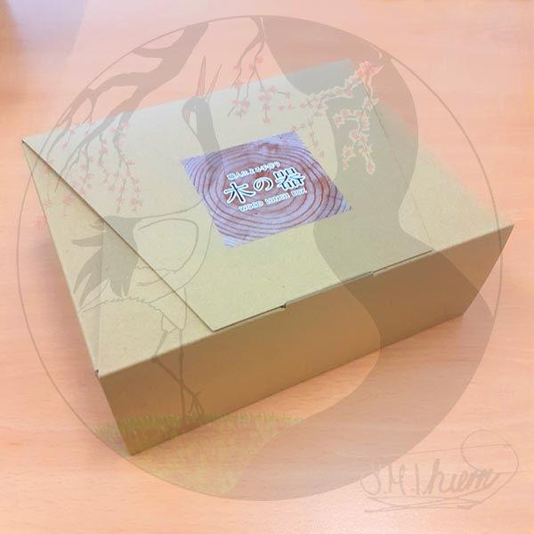 Megawappa Bentobox Koi, Verpackung zu