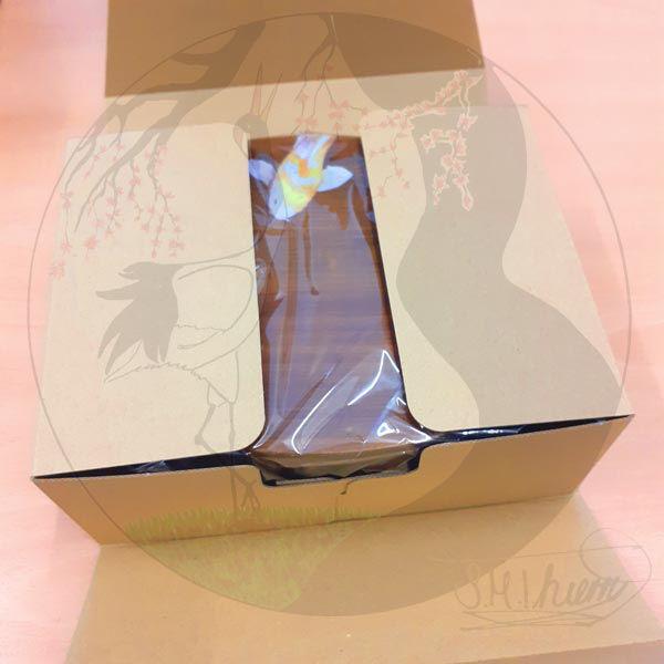 Megawappa Bentobox Koi, Verpackung offen