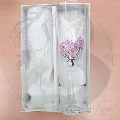 Sektgläser Sakura, kalt