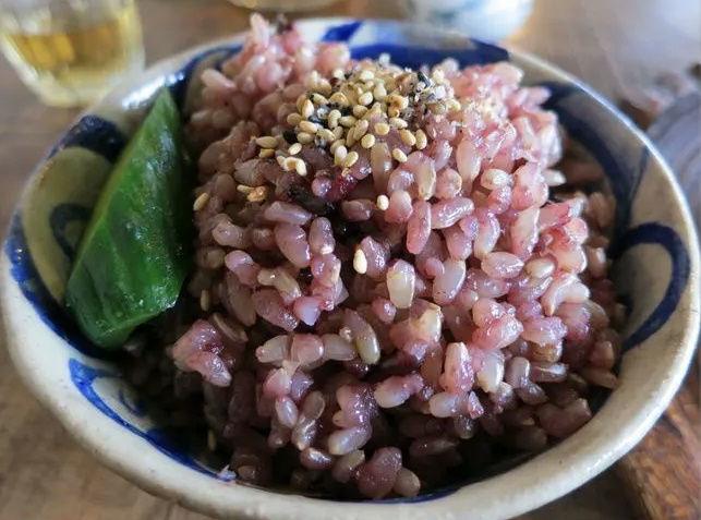 Schwarzer Reis, gekocht